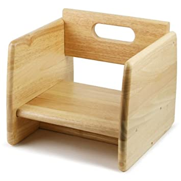 Wooden Booster Seat Natural Infant Booster Seat Child Booster