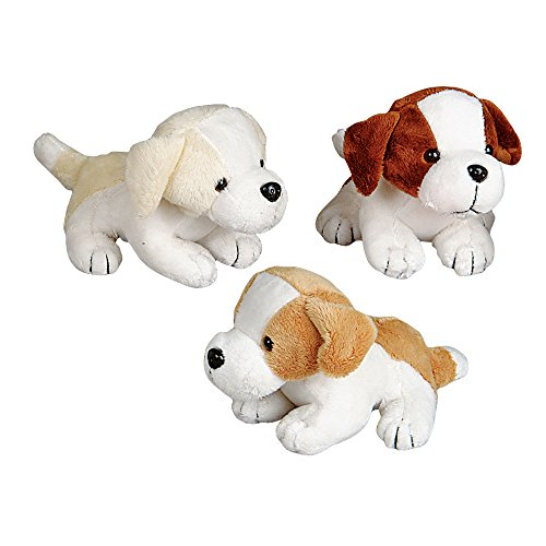 Assorted Color Adorable Plush Puppy