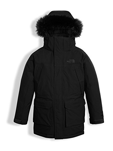 The North Face Fur Parka - The North Face Big Boys' McMurdo Down Parka (Sizes 8 - 20) TNF Black X-Large