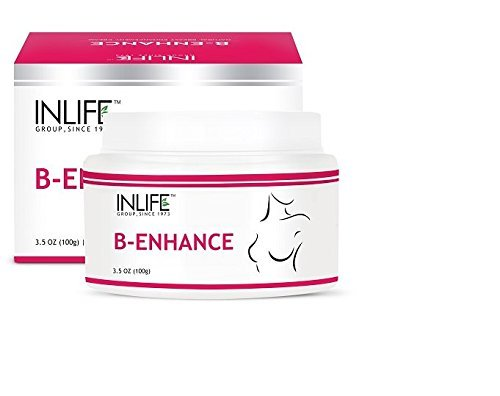 INLIFE Natural Breast Enlargement Cream (100g), to increase cup size