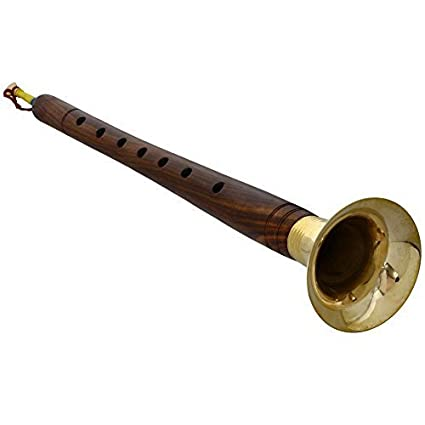 indian classical wind musical instrument shehnai for weddings
