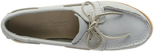 Timberland Camden Falls Full-Grain Leather, Mocassini Donna Grigio (Wrought Iron Escape)