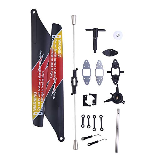 Coodio WLtoys V913 RC Helicopter Accessories Bag Propeller Piece+Tail Motor Socket+Connect Buckle+Main Shaft for V913 RC Helicopter