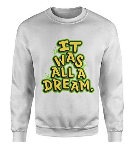 ARROGANTMIND Notorious Big Sweatshirt/Biggie Smalls Sweatshirt/badboy Concert Dame Right (White, - Style P Diddy