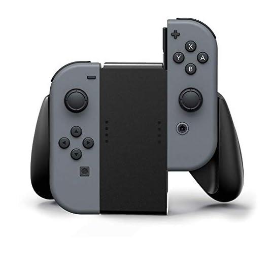 PowerA Joy Con Comfort Grips for Nintendo Switch – Black