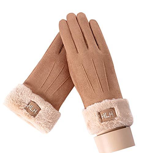 なしで畝間不機嫌そうな(ボラ-キキ) Bole-kk スマートフォン ファー付き 手袋 グローブ レディース 手袋 裏起毛 リボン付き 秋冬 ボア グローブ 暖かい おしゃれ かわいい 防寒