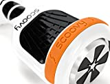Protective Scoovy Orange Replacement Bumper for Hoverboard / 2 Wheel Self Balancing Scooter - One Pair