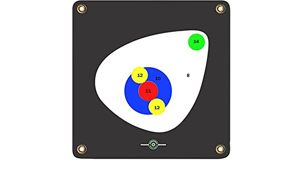 "3D Scoring Rings ArrowMat Target Face 17/""X17/"""
