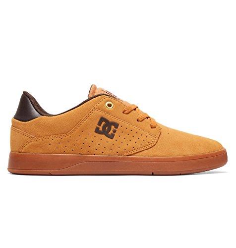 DC Shoes Men's Plaza TC S Skate Shoes Tan/Gum 12 ()