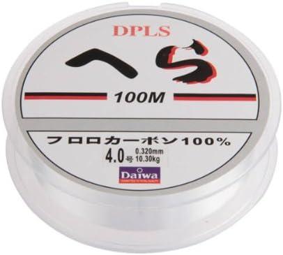 TOMOUNT Fil ligne de p/êche 0.32mm 100M 10kg transparent pour leurre tra/îne