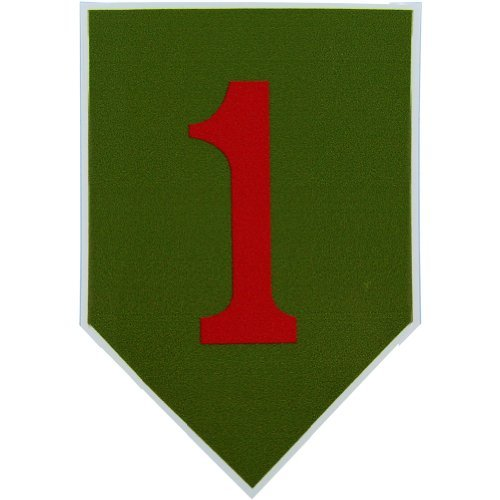 U.S. Army 1st Infantry Division Vinyl Decal (Div Decal)