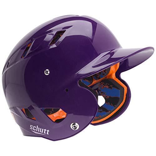 Schutt Sports Senior OSFM 3242 AIR 4.2 Batter's Helmet, High Gloss Purple - As A Softball Senior