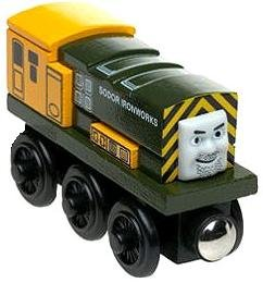 Wooden Thomas Tank Engine - Iron Bert - Thomas & Friends Wooden Railway Tank Train Engine - Brand New Loose