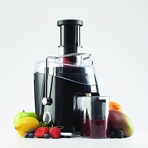 Juice Extractor - Brentwood Wide Feeder Multi Speed Juicer - Black by Brentwood