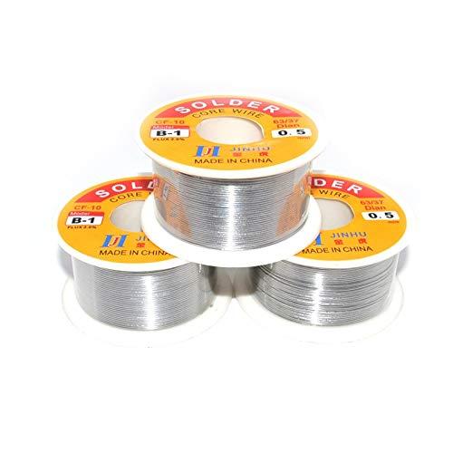 0.5mm Tin Lead Rosin Core Solder Soldering Wire Line 100g