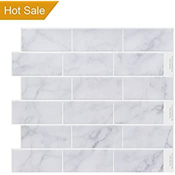 Amazoncom Peel And Impress Peel And Stick Tile Backsplash - What is the invoice price online tile store