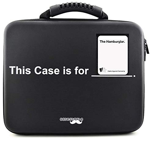 Portable Card Game Case for 2,200+ Cards. Compatible with Cards Against Humanity, MTG, Pokemon & More! (Extra Large) by CaseStache (Image #3)