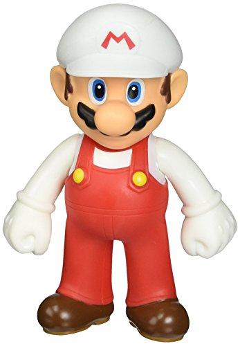 Super Mario Brother 5 Inch Figure Fire Power - Inch Mario Figures 5