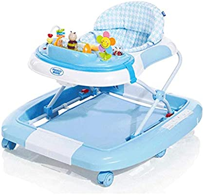 Baby Walkers 3 Posiciones Andador para bebé, Plegable y Regulable ...
