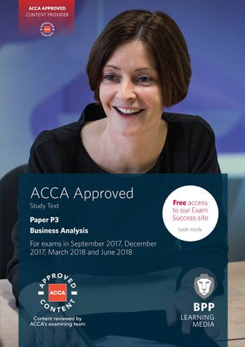 Read Online ACCA P3 Business Analysis: Study Text PDF