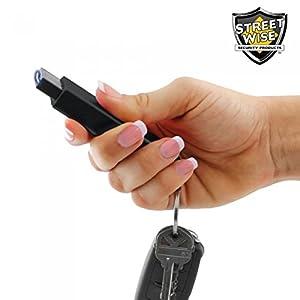 Streetwise Security Products SMKM20BK Mini SMACK 20 Million Volt Stun Gun