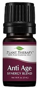 Plant Therapy Anti Age Synergy Essential Oil 5 mL (1/6 oz) 100% Pure, Therapeutic Grade