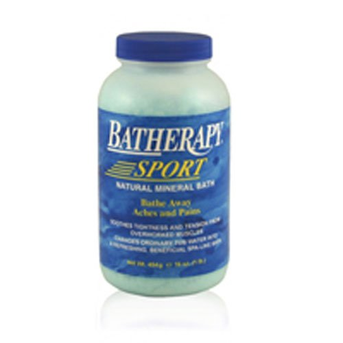 (Queen Helene Batherapy Sport Natural Mineral Bath - 16 oz - Pack of 4)