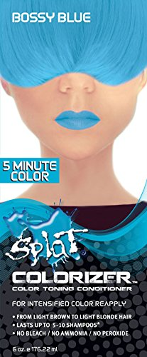 splat hair dye blue envy - 7