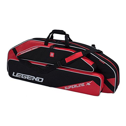 Legend Archery Superline Compound Bow Case - Backpack Shoulder with Straps - Inside Length 44'' (Blue)