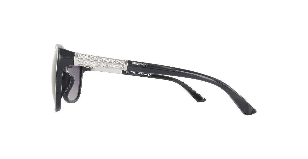 62 Donna Nero Schwarz Swarovski Sonnenbrille SK0083F-01B-60 Occhiali da Sole