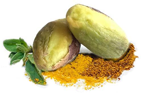 The Gilded Nut Pistachios - Seasoned & Roasted Gourmet Pistachio Kernels (No shell) - Non-GMO, Gluten-Free, Vegan (Habanero Heat, 1/2 lb Bulk)