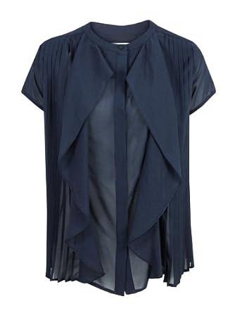 88892b3d4b See By Chloe LC82400-T6777 Navy Shirt L: Amazon.co.uk: Clothing