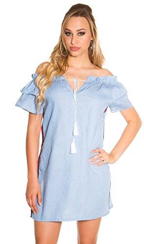 Femme Clair Bleu Koucla Robe Robe Koucla Femme Clair Bleu HYw8zFBq