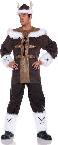 Viking Warrior Adult Costume - Standard Version (Plus Size Viking Warrior Costumes)