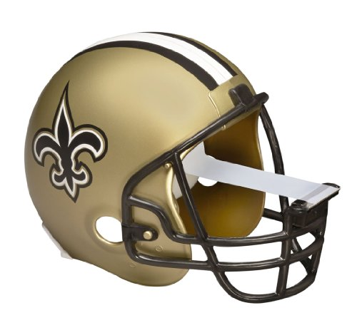 Scotch Magic Tape Dispenser, New Orlean Saints Football Helmet with 1 Roll of 3/4 x 350 Inches Tape