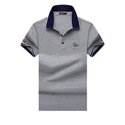 rouge XXXL INTER FAST T-Shirt en Coton T-Shirt brodé de Couleur Unie T-Shirt à Manches Longues T-Shirt à Manches Courtes T-Shirt à Manches Courtes T-Shirt (Couleur   Dark bleu, Taille   L)