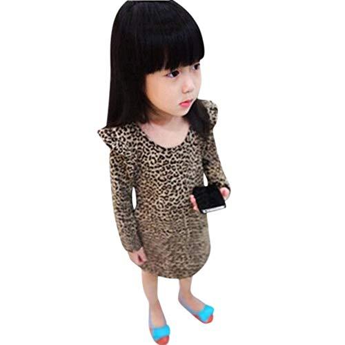 Pinklu Vestido De Leopardo De Las De Fiesta De La Princesa ...