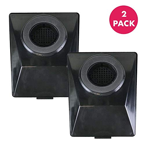 (Think Crucial Air Filter Replacement Compatible With Rainbow E2 - Fits E2-Series Parts # R12179, R12647B - Washable and Reusable HEPA Style Exhaust Filters - Experience Cleaner Air At Home (2 Pack))