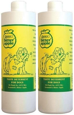 Grannick's 2 Pack of Bitter Apple 16-Ounce Refill for Dogs