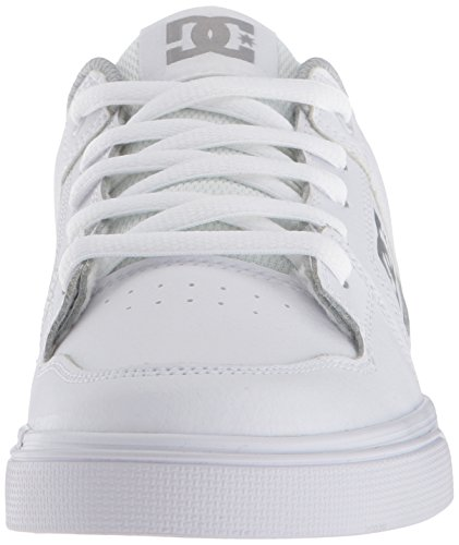 Pictures of DC Pure Elastic Skate Shoe White 5 M US Big Kid ADBS300385 6