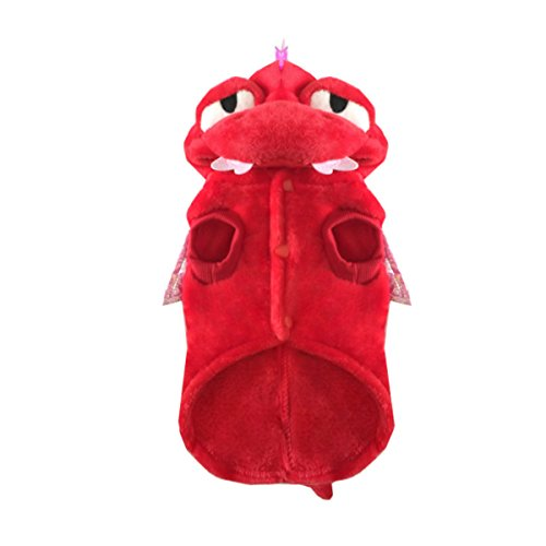 Hippih Animal Design Pet Costume Funny Cute Lovely Cosplay Clothes for Dog