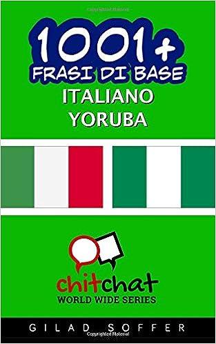 Book 1001+ frasi di base italiano - Yoruba