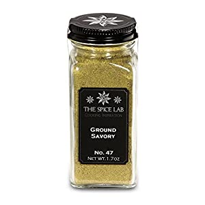 The Spice Lab No. 47 - Ground Savory, French Jar