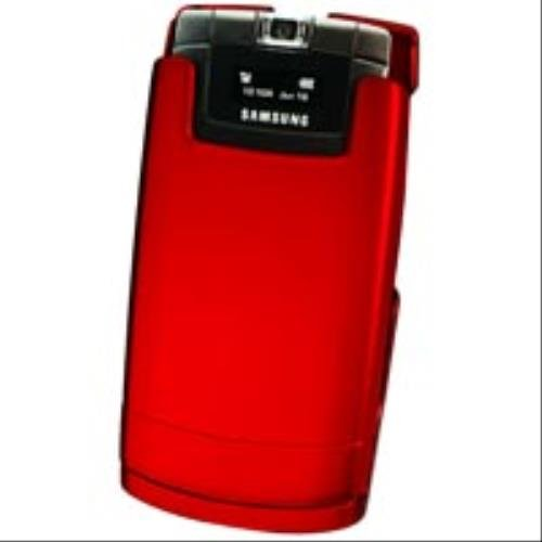 NEW RED RUBBERIZED PROGUARD HARD CASE COVER BELT CLIP FOR SAMSUNG SGH-A717 PHONE