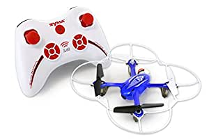Tenergy Syma X11C 4CH 2.4Ghz RC Quadcopter Drone with HD Camera & LED Lights (Exclusive Thunder Blue)