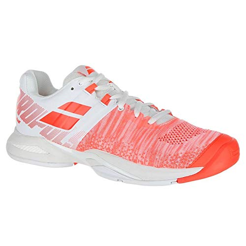 Babolat Propulse Blast All Court Womens Tennis Shoe - White/Fluo Strike - Size 8.5