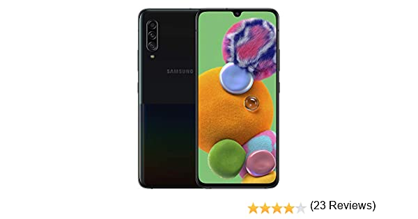 SAMSUNG Galaxy A90 5G 6GB/128GB Negro Single SIM SM-A908B: Amazon ...