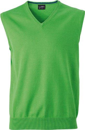 Klassischer Herren -Baumwoll-Pullunder XL,Green