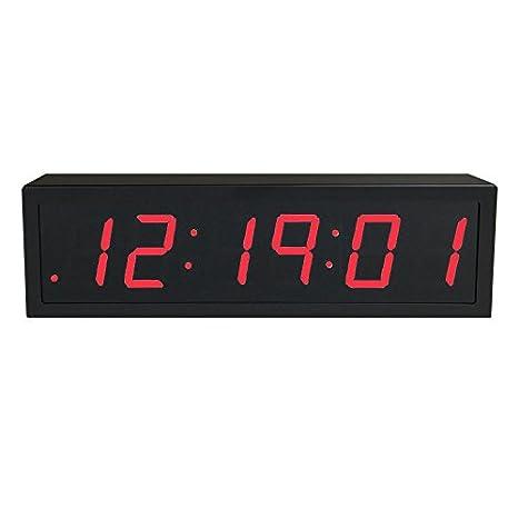 Reloj digital de precisión alimentado vía Ethernet (PoE) de ...