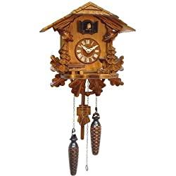 Alexander Taron Importer 436QM Battery Operated Black Forest Cuckoo Clock
